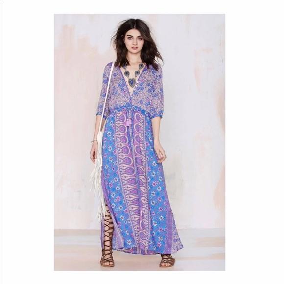 878ce76078976 Spell Lavender Boho Blossom Maxi Dress